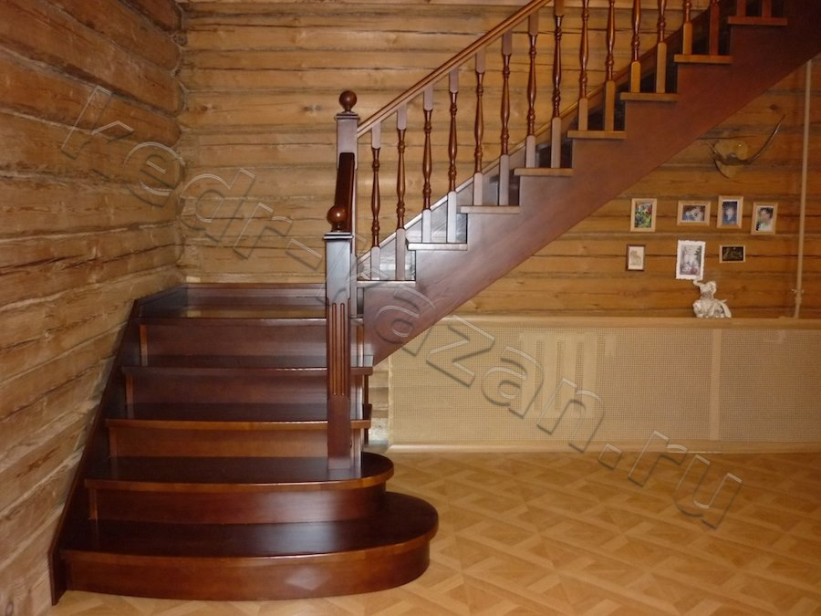 Виды и варианты дизайна лестниц на второй этаж для